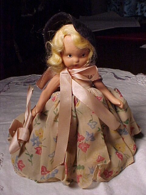 Bisque Storybook Doll
