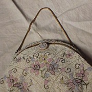 Beaded Pastel DeLiLL Beaded Bag Made in France