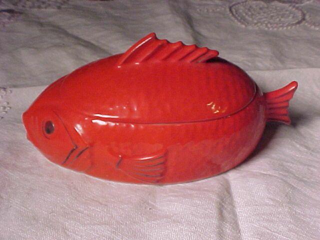 Czechoslovakia Fish Container