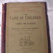 The Care Of Children In Sickness And In Health