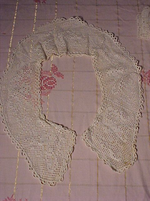 Large Crocheted Collar