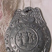 Toy Police Badge