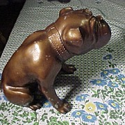 Large Metal Bulldog