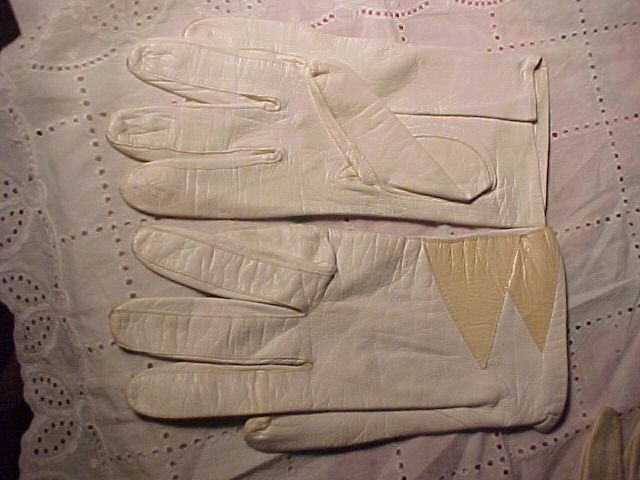 Three Pairs of Vintage Leather Gloves