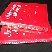'International Armament' Johnson and Lockhoven 1965 1st ed/1st printing w errata sheets Out of Print