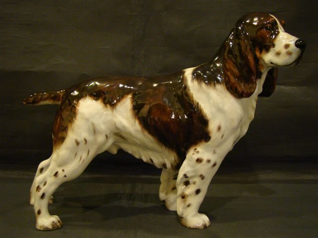 Royal Doulton Springer Spaniel Dog Figurine Dry Toast
