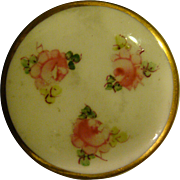 Royal Crown Derby hand painted roses rouge or blush box
