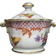 Bernardaud Limoges Cie des Indes covered dish pot