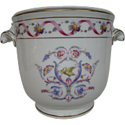 Richard Ginori floral and bird handled jardiniere