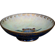 Wedgwood Fairyland Lustre small footed turtle pattern bowl Z4829