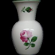 Wien Augarten Austria Viennese Rose 5089 miniature vase Wiener Porzellan