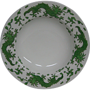 Hammersley green dragon 4602 soup bowls Tiffany and Co New York
