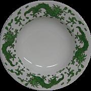 Hammersley green dragon 4602 soup bowls Tiffany and Co New York
