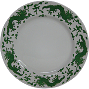 Hammersley green dragon 4602 dinner plate T Goode London
