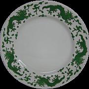 Hammersley green dragon 4602 dinner plate T Goode London