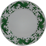 Hammersley green dragon 4602 luncheon plate T Goode London