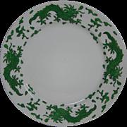 Hammersley green dragon 4602 luncheon plate T Goode London