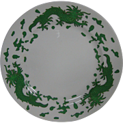 Hammersley bone china green dragon 4602 salad plate T Goode London