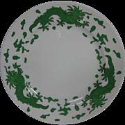 Hammersley bone china green dragon 4602 salad plate T Goode London