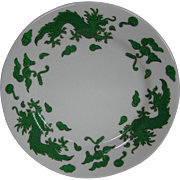 Hammersley Bone china green dragon 4602 bread butter plate T Goode London