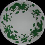 Hammersley Bone china green dragon 4602 bread butter plate T Goode London