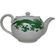 Hammersley bone china green dragon 4602 teapot Tiffany & Co New York