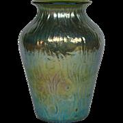 Loetz art glass rusticana vase classic form