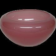 Steuben rosaline art glass bowl shape 2687
