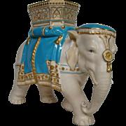 English porcelain Tiffany & Co elephant figurine registry mark