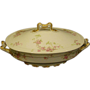 Haviland Schleiger 42 oval covered vegetable bowl