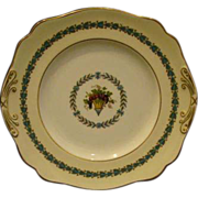 Wedgwood china Appledore handled cake plate