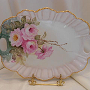 Beautifully Painted Tray; Gorgeous Roses