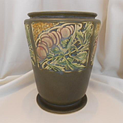 Wonderful Roseville Rosecraft Panel Large Vase