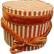 Small Hat Box for Fashion Doll Trousseau