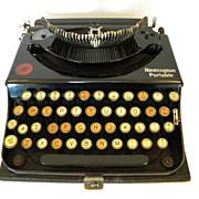1921 Remington Portable Typewriter Model  No. 1   Serial  NX13333