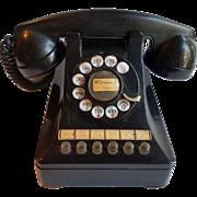1940's Black Multi Line Business Phone - Western Electric 464