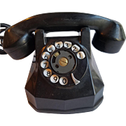 1940's Black Phone Automatic Electric Monophone Model 40