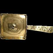 Late 19th Century Long-Handled English Brass Chamberstick