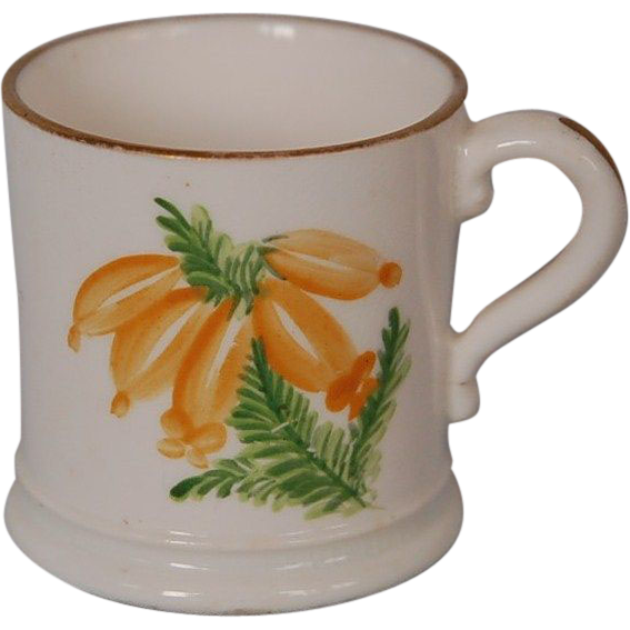 Early 19th Century English Coalport Miniature Porcelain Mug