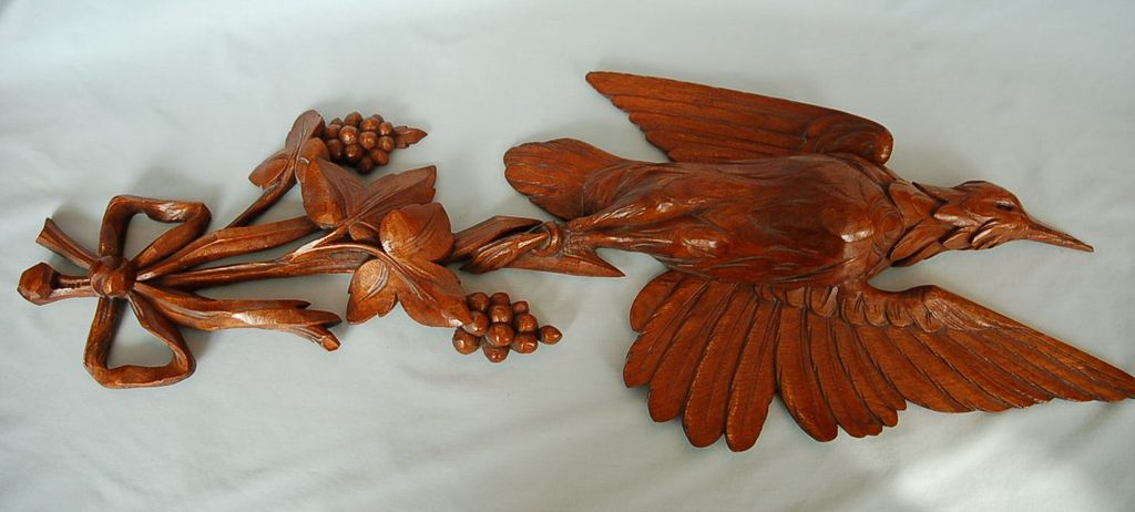 19th Century Quebec Walnut Trophy