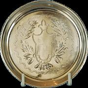 Russian Pre-revolution 875 Silver Coaster