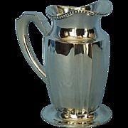 Turn of the Century Hungarian 800 Fine Silver Cream Jug