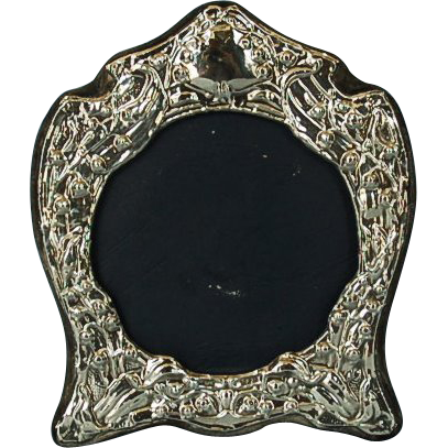 vintage english sterling silver photograph frame by keyford frames