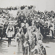 19th Century Photograph of Coronation of Tsar Nicholas II 1896