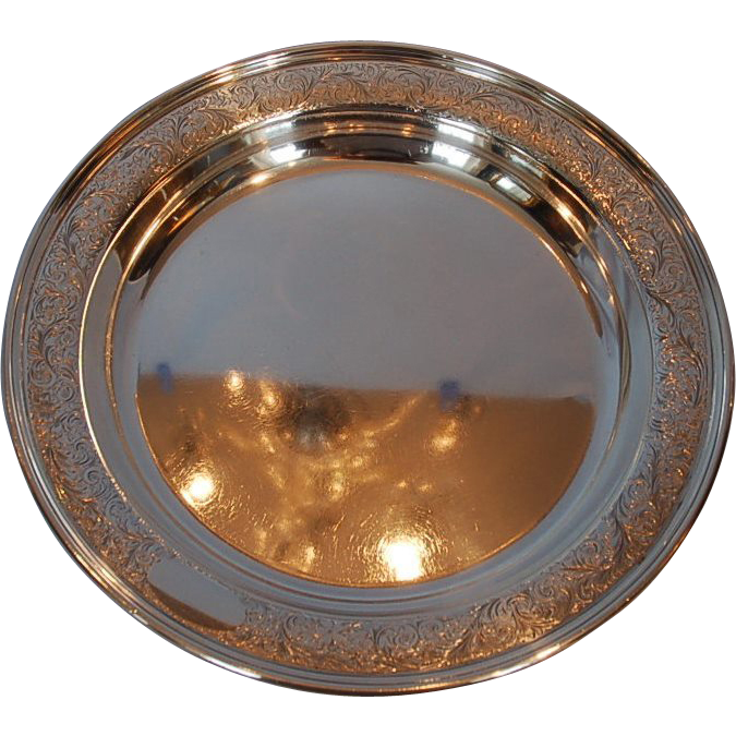 Vintage Continental Sterling Silver Bowl made for Birks of Montreal