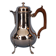 19th Century French 950 Fine Silver Coffee Pot by Paul Canaux