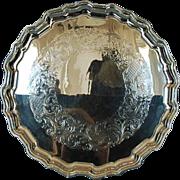 Mid-Century Vintage Birks Sterling Silver Salver