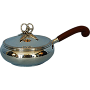 Mid-century American Sterling Silver Silent butler by Fisher Silversmiths