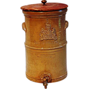 19th Century Crockery Cistern by McDonald & Willson, Toronto