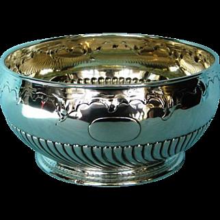 Antique German .800 Silver Bowl by Koch & Bergfeld